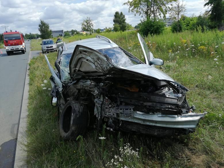 Wypadek drogowy w Wyszkowie