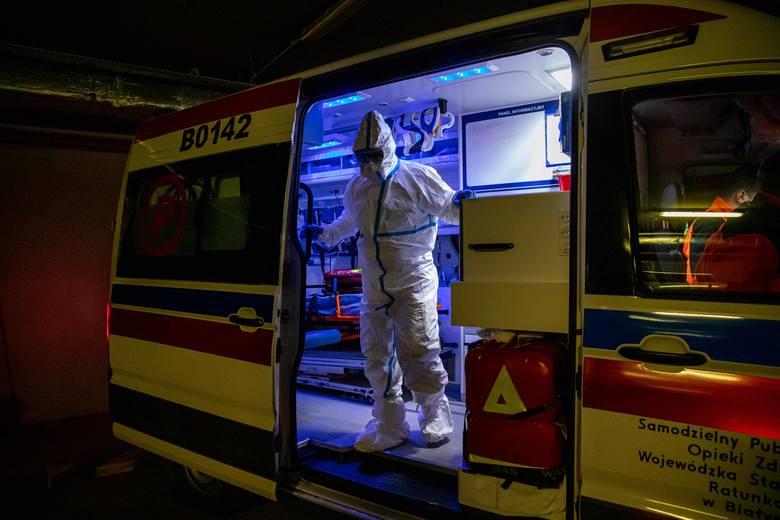 Pogotowie potrzebuje polipropylenu, by móc uszyć 1000 kombinezonów ochronnych dla ratowników