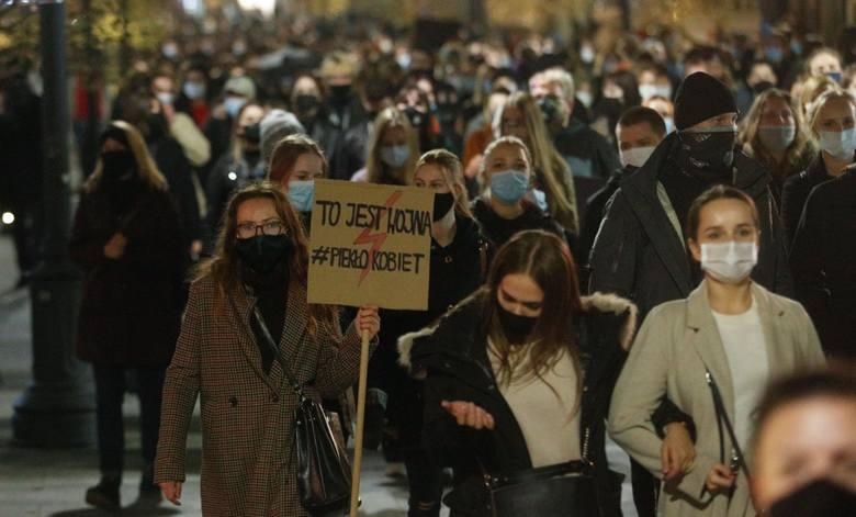 Strajk Kobiet w Rzeszowie.