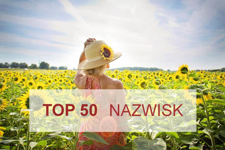 Przed Wami najpopularniejsze nazwiska żeńskie w Polsce. Na dwóch pierwszych miejscach nie będzie zaskoczenia... Nowak (102 944 kobiet) i Kowalska (69