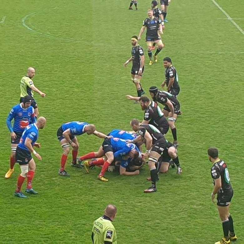 Master Pharm Rugby Łódź. Najlepszy mecz w sezonie i efektowne zwycięstwo!