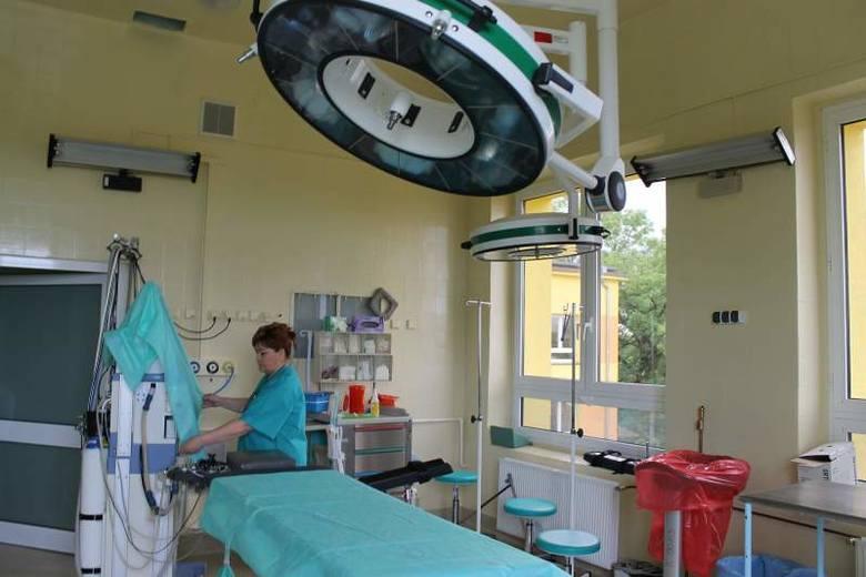 Sanepid nakazał wyłączyć z użytkowania salę cięć cesarskich i teraz takie porody są przeprowadzane na bloku operacyjnym, który właśnie przeszedł rem