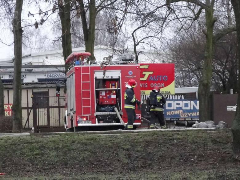 Wybuch gazu na Obornickiej w Poznaniu: Trzy osoby ranne