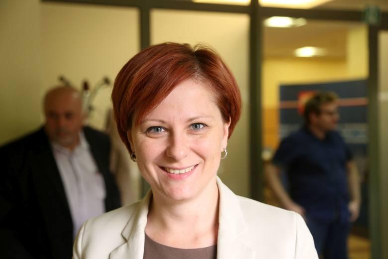 Burmistrz Łap - Urszula Jabłońska