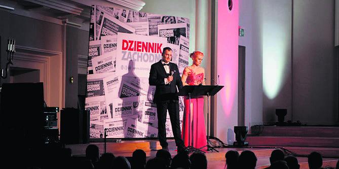 Naszą galę sprawnie prowadzili świetni konferansjerzy i dziennikarze, Patrycja Tomaszczyk-Kindla oraz Marek Mróz