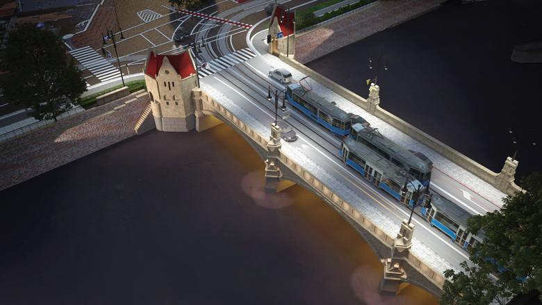 Mosty Pomorskie po remoncie mają odzyskać historyczny wygląd i współczesną funkcjonalność. Wrocławskie Inwestycje właśnie wybrały firmę, która przeprowadzi