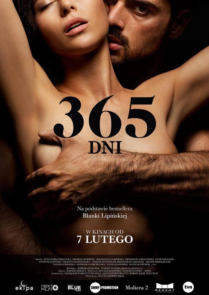 365 dni: pierwszy film erotyczny. Kiedy premiera? Pikantne sceny! Wkrótce w kinach Kontrowersyjny zwiastun produkcji bez cenzury. Sprawdźcie