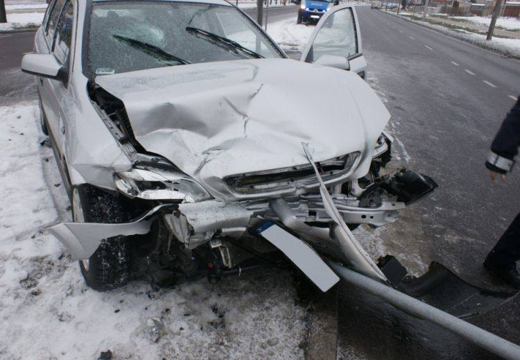 Wypadki. Łomża, Czarnocin - Pęza. Byli ranni (zdjęcia)