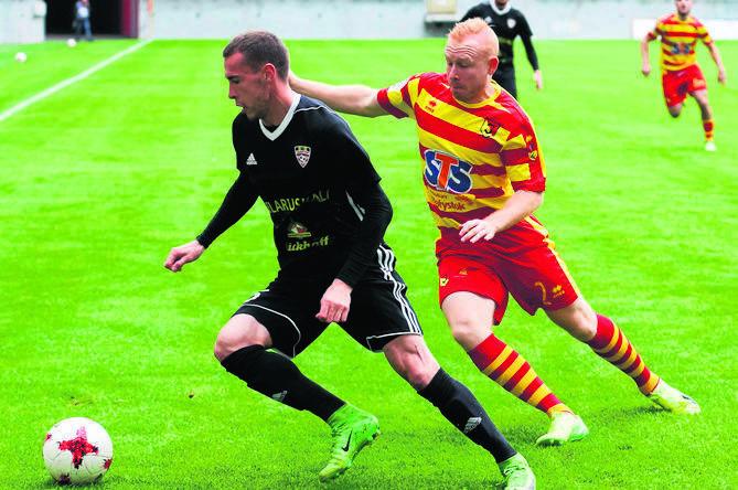 Szkot w Jagiellonii pojawił się w przerwie zimowej sezonu 2016/17. W sumie przez rok zagrał w 9 oficjalnych meczach i został zapamiętany jako ten co