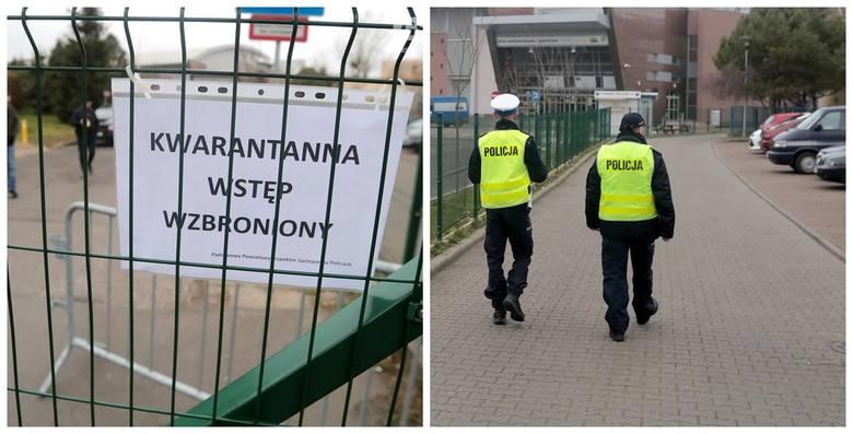 Koronawirus w Policach? Zamknięta szkoła, kwarantanna w internacie