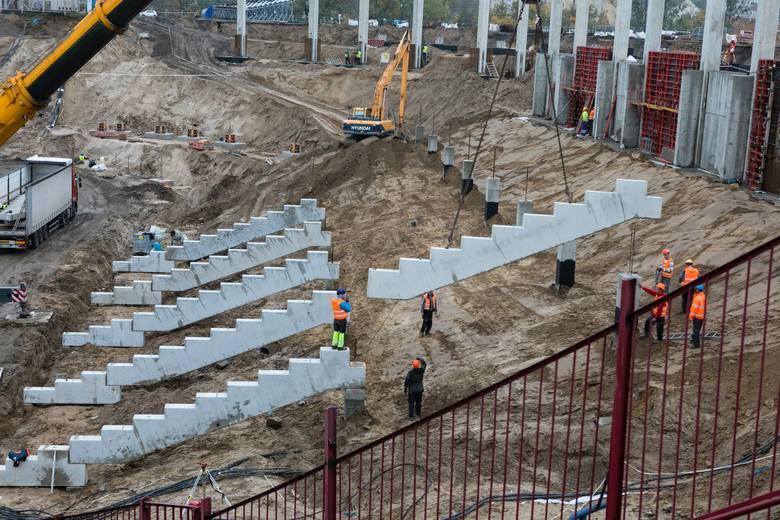 Przebudowa stadionu Pogoni rozpoczęła się w kwietniu.