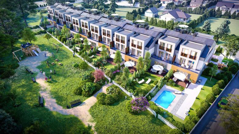 Inwestycja przy ul. Cybisa. Zakładu budowę 26 wielopoziomowych apartamentów w zwartej zabudowie. Każdy z nich ma ponad 100 metrów kw. powierzchni. Cena