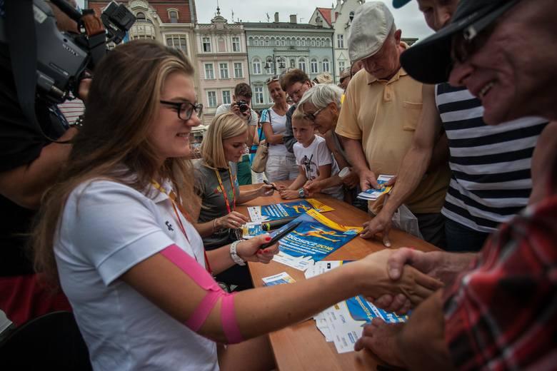 Klaudia MaruszewskaSpotkanie z mistrzynią na Starym Rynku