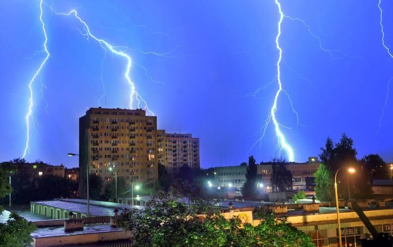 Gdzie jest burza - Opole i opolskie. Burze z gradem dziś nad Opolszczyzną. Ostrzeżenie II stopnia! [1 lipca 2019]