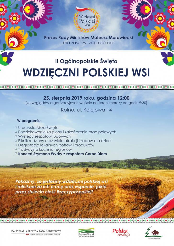 Burmistrz Kolna Andrzej Duda i wojewoda podlaski Bohdan Paszkowski zapowiedzieli II Ogólnopolskie Święto Wdzięczni Polskiej Wsi. Odbędzie się już w