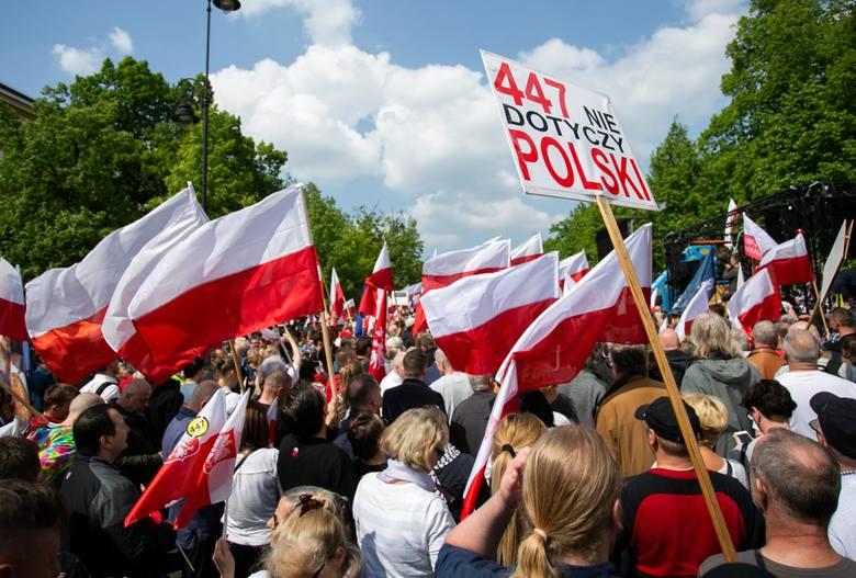 11.05.2019 warszawa marsz przeciwko ustawie 447 n/zfot.krystian dobuszynski/polska press