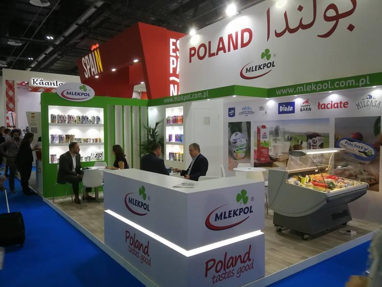 Targi Gulfood w Dubaju to jedna z największych imprez branży spożywczej na świecie. Spółdzielnia Mleczarska Mlekpol w Grajewie bierze udział w wydarzeniu