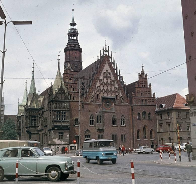 Wrocław, lato 1968 roku na zdjęciach Grażyny Rutowskiej
