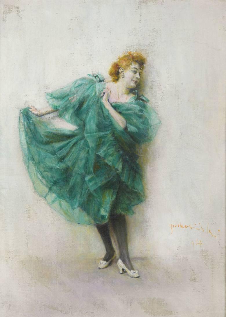 """""""Baletnica"""" autorstwa Leona wyczółkowskiego"""