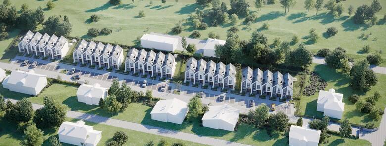 Przy ulicy Kędzierskiego w Radomiu powstanie osiedle nowoczesnych domków jednorodzinnych. Inwestor kusi nabywców dobrą lokalizacją zapewniającą równowagę