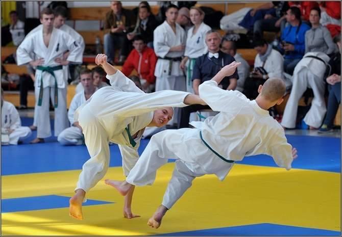 Mistrzostwa Polski w karate kyokushin - Koszalin 2014