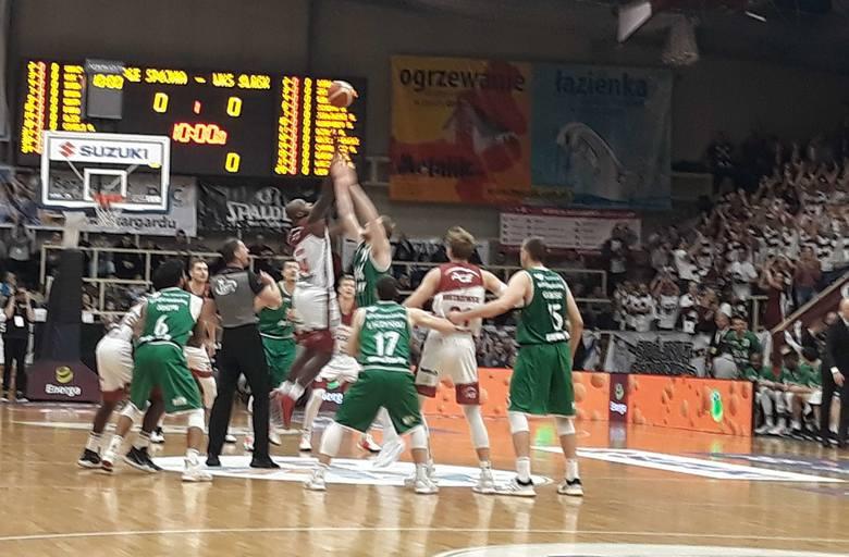Spójnia grała ze Śląskiem w hali Ośrodka Sportu i Rekreacji w Stargardzie