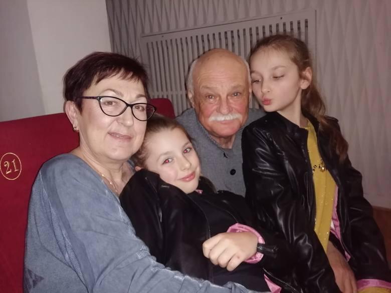 Włodzimierz Stawicki z rodziną.