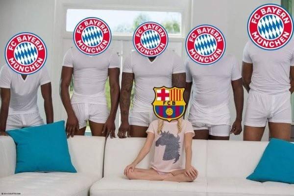 Liga Mistrzów. MEMY po meczu Barcelona - Bayern: zaginął Messi, tęgie lanie Barcy