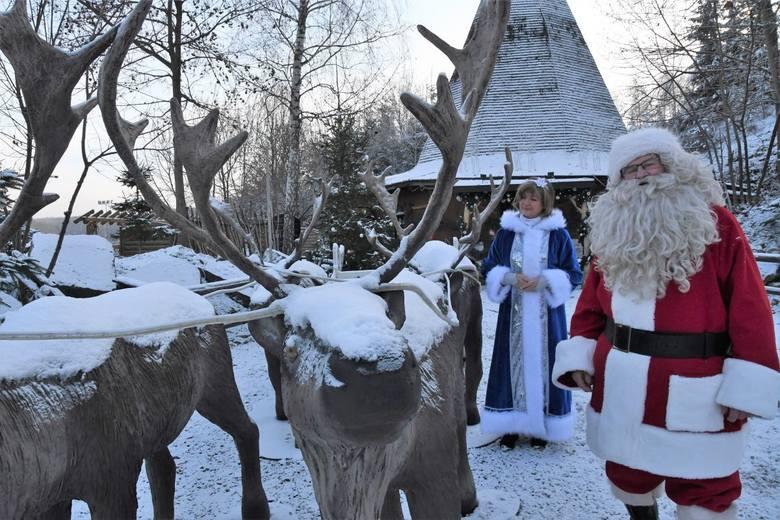 Od piątku, 4 grudnia czynna będzie największa, świąteczna atrakcja kompleksu w Bałtowie- Wioska Świętego Mikołaja. W czwartek po południu, kiedy odwiedziliśmy