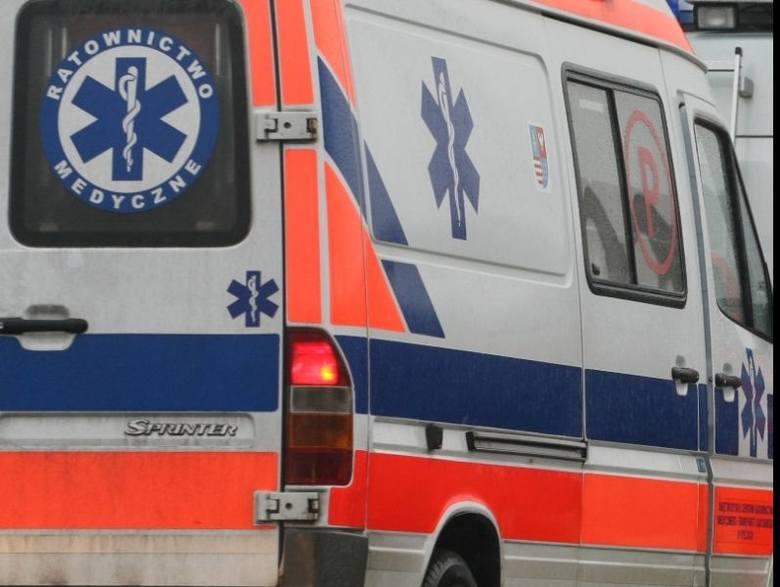 Trzy samochody zderzyły się w Zarszynie pod Sanokiem. Jedna osoba jest ranna