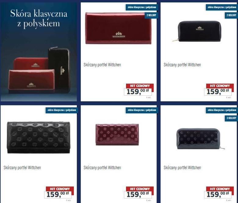 7a79a10454345 Wittchen / Lidl Wittchen w Lidlu: torebki, portfele, rękawiczki i paski.  Kolekcja Wittchen w Lidlu już od 2 grudnia 2017 (2.12.2017) mat. Wittchen /  Lidl