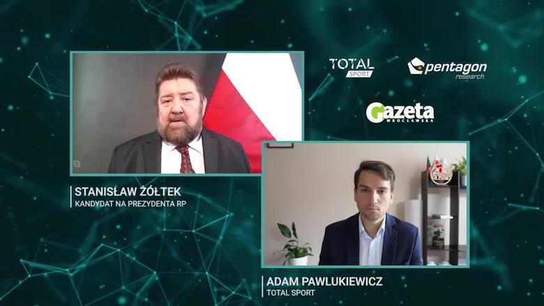 """Stanisław Żółtek: """"Byłem zachwycony Lubańskim"""". Rozmowa o sporcie, gospodarce, patriotyzmie, Kaczyńskim... VIDEO"""