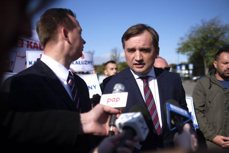 W niedzielę do Torunia w ramach kampanii wyborczej zjechał minister sprawiedliwości i prokurator generalny Zbigniew Ziobro. Wsparł kandydata swej partii,