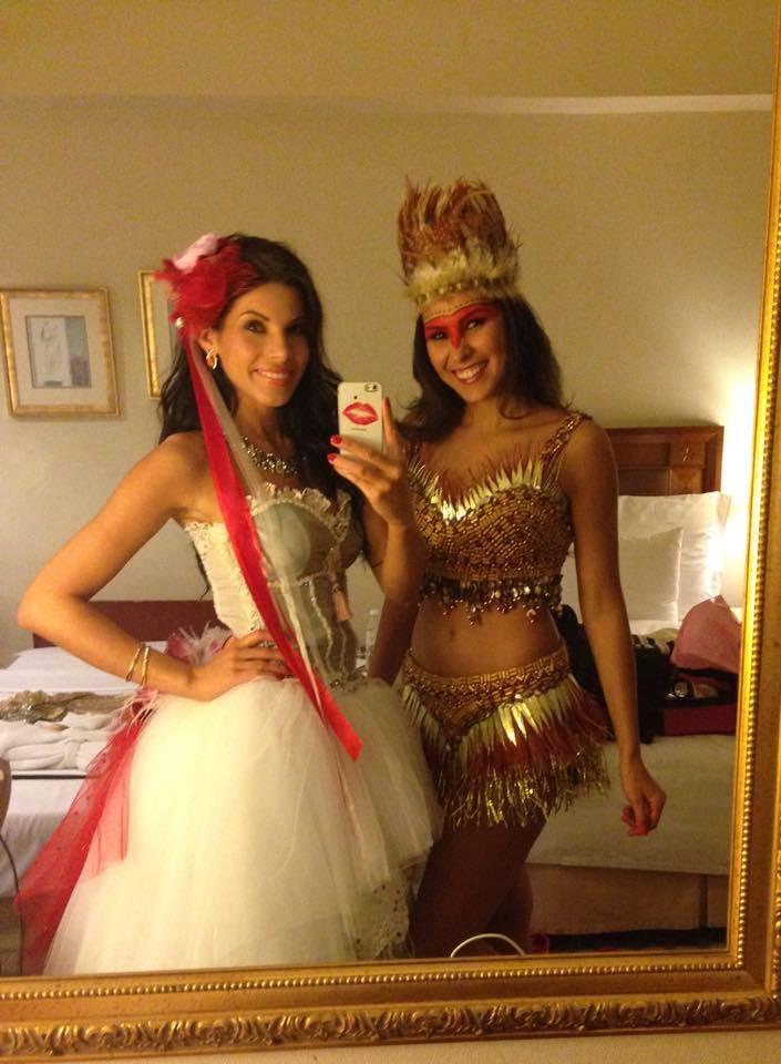 Opolanka Anna Pabis z Vice-Miss Brazylii poznały się w Malezji.