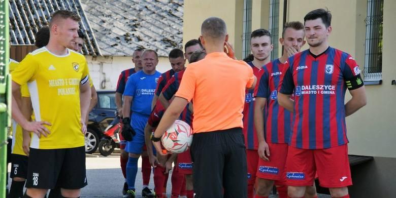 W ciekawym meczu czwartej ligi, w którym zagrało dwóch spadkowiczów z trzeciej ligi, Czarni Połaniec wygrali w Daleszycach ze Spartakusem 2:1. Do przerwy