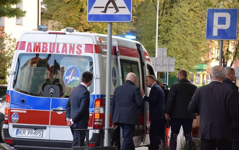 Prezydent Andrzej Duda interesował się stanem zdrowia chłopca, wieczorem odwiedził go w domu