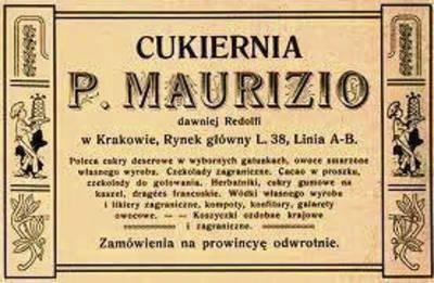 """U """"Maurizia"""" należało bywać"""