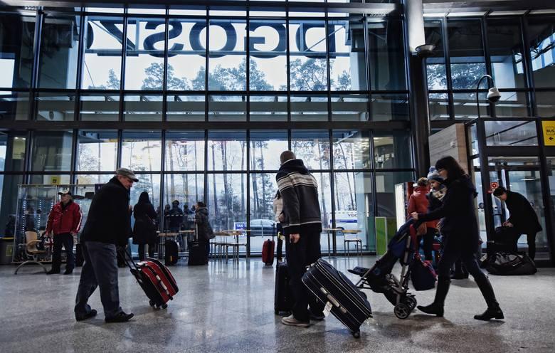 Bydgoskie lotnisko jest drugie w Polsce pod względem wzrostu liczby odprawionych pasażerów.
