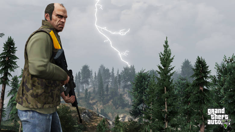 Ta gra zadebiutowała jeszcze na PS3 i Xboksach 360. Po roku została znakomicie zremasterowana na konsolach nowej generacji, a dzięki trybowi GTA Online