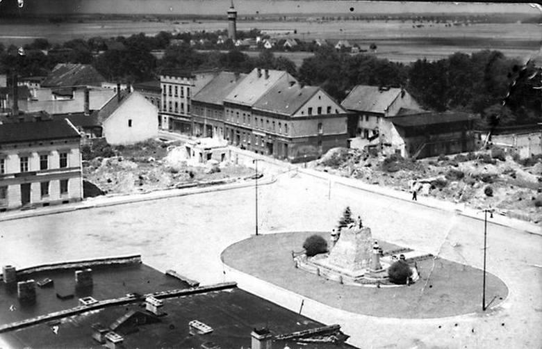 Wołczyn po 1945 roku i Konstadt przed 1945 rokiem.