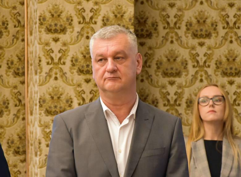 Arkadiusz Szymański, radny PiS, wiceprzewodniczący rady miasta.