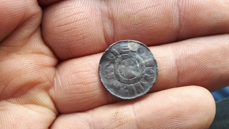 Moneta z lasu pod Bydgoszczą