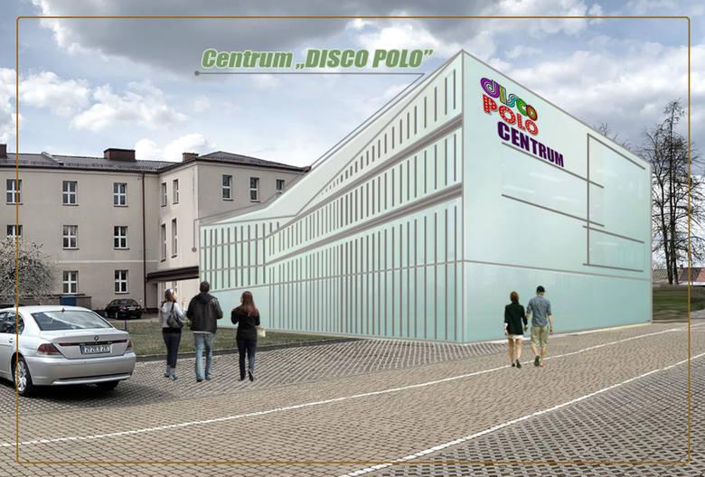 """Dzień później nastąpiła pierwsza reakcja samorządowców z Podlasia: przy prezentowaniu wizualizacji Centrum Disco Polo miało po prostu dojść do pomyłki.""""Na"""