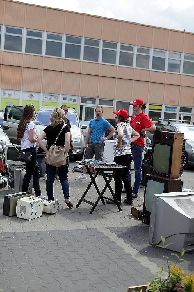 20 ton elektrośmieci zebrano podczas sobotniej akcji w Skierniewicach