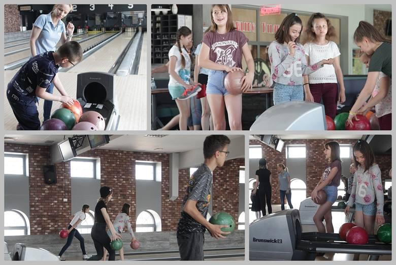 """W sobotę i niedzielę zorganizowano zajęcia w Szkółce Bowlingowej w kręgielni """"Lucky Star"""". - Już piąty rok prowadzimy szkolenie - mówi"""