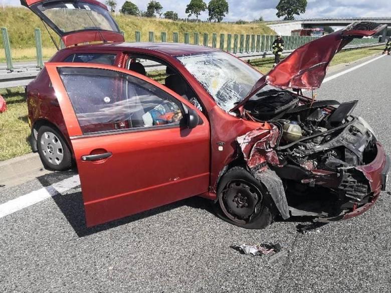 Wypadek na A1 09.07.2020 r. Autostrada zamknięta!