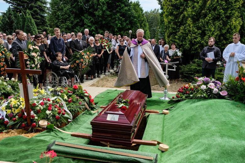 Pogrzeb Jacka Hałasika
