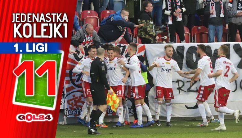 Blamaż Odry, czołówka robi swoje. Jedenastka 26. kolejki Fortuna 1 Ligi według GOL24!