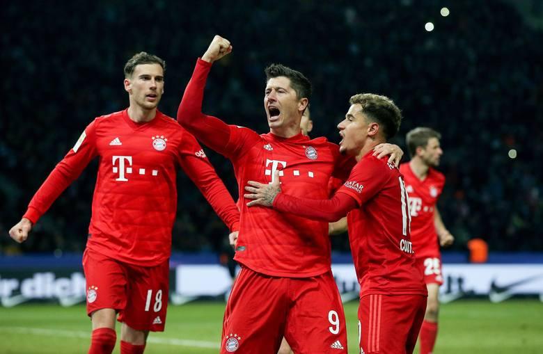 Gol Roberta Lewandowskiego i wysoka wygrana Bayernu (video)