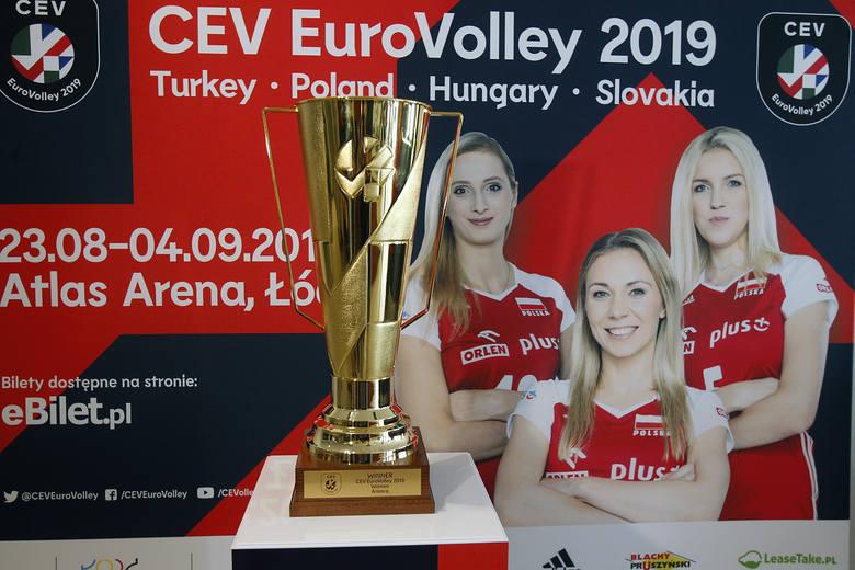 EuroVolley 2019. Puchar dla mistrzyń już jest w Łodzi